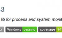 Psutil-系统性能信息模块