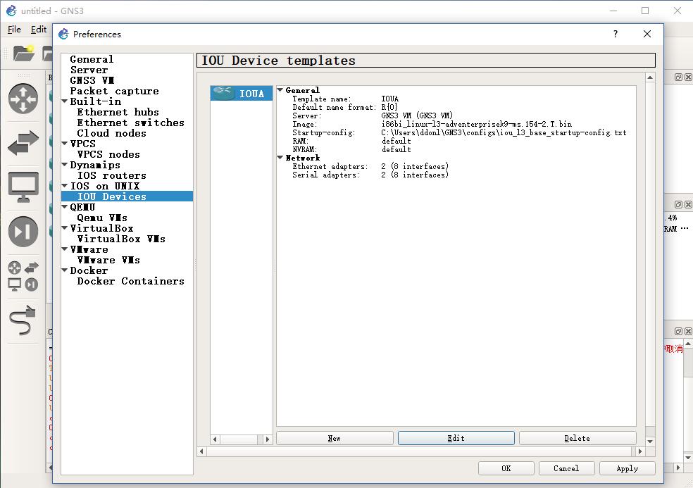 思科模拟器GNS3-2 0 3安装笔记,含IOU及VM - 轻风博客